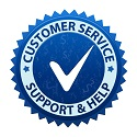 Customer-Support-Badge