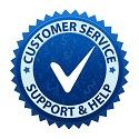 Customer-Support-Badge